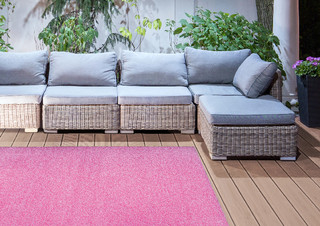ESSCHERT DESIGN Koberec zahradní 140x200 růžový