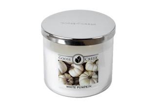 Svíčka 0,41 KG WHITE PUMPKIN, aromatická v dóze, 3 knoty
