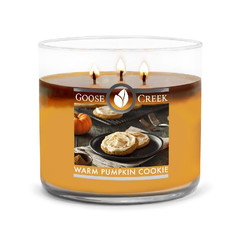 Svíčka 0,41 KG WARM PUMPKIN, aromatická v dóze, 3 knoty