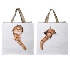 ESSCHERT DESIGN Taška s kočkou