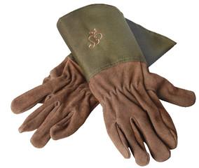 ESSCHERT DESIGN Zahradní rukavice s tmavě zeleným lemem