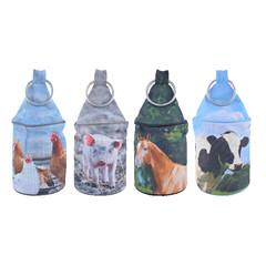ESSCHERT DESIGN Zarážka farmářská zvířata, balení obsahuje 4 kusy!