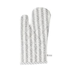 EGO DEKOR Glove 18 x 33 cm, Medium Fine stripe light grey