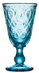 LA ROCHERE XXX Sklenice na noze 0,23L, LYONNAIS, modrá|azurová (DOPRODEJ)