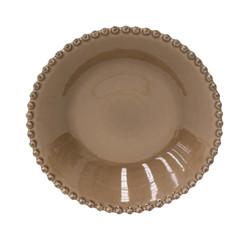 """COSTA NOVA Talíř polévkový 24 cm, """"PEARL"""", kakaová"""