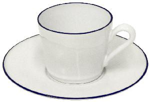 COSTA NOVA Hrnek na čaj s talířkem 0,18 L,