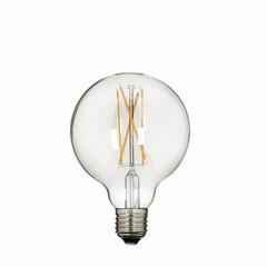 EGO DEKOR Žárovka Edisonka, průhledná, LED