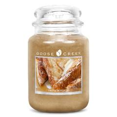GOOSE CREEK Svíčka 0,68 KG Francouzský toast, aromatická ve skle (GC 24oz French Toast)