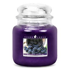 GOOSE CREEK Svíčka 0,45 KG Ostružinový Bourbon, aromatická ve skle (Blackberry Bourbon)