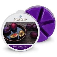 GOOSE CREEK Vosk Černá jantarová Slivovice, 59g , do aroma lampy (Black Amber Plum)