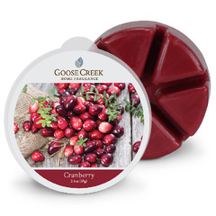 GOOSE CREEK Vosk Brusinka, 59g , do aroma lampy (Cranberry)