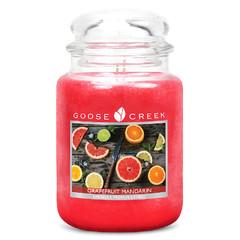GOOSE CREEK Svíčka 0,68 KG Grapefruit, aromatická ve skle (Grapefruit Mandarin)