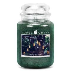 GOOSE CREEK Svíčka 0,68 KG Okamžik v čase, aromatická ve skle (MOMENT IN TIME)