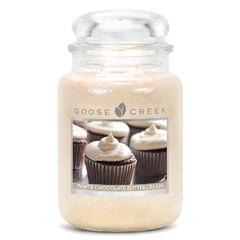 GOOSE CREEK Svíčka 0,68 KG Bílá čokoláda, aromatická ve skle (WHITE CHOCOLATE)