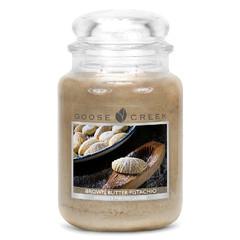 GOOSE CREEK Svíčka 0,68 KG Hnědé pistáciové máslo, aromatická ve skle (BROWN BUTTER)
