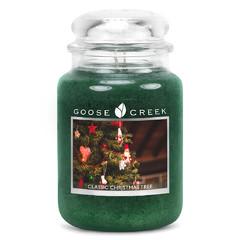 GOOSE CREEK Svíčka 0,68 KG Klasický vánoční stromek, aromatická ve skle (CLASSIC CHRISTMAS)